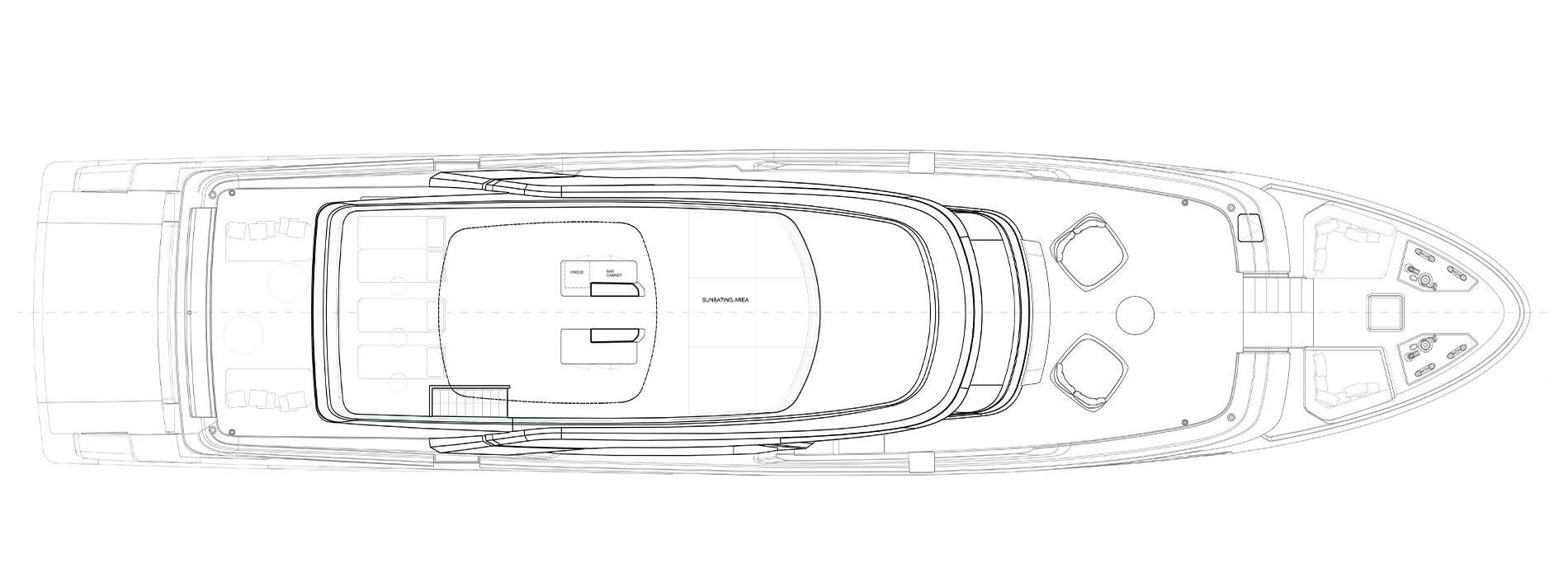 Sanlorenzo Yachts SD118 Флайбридж