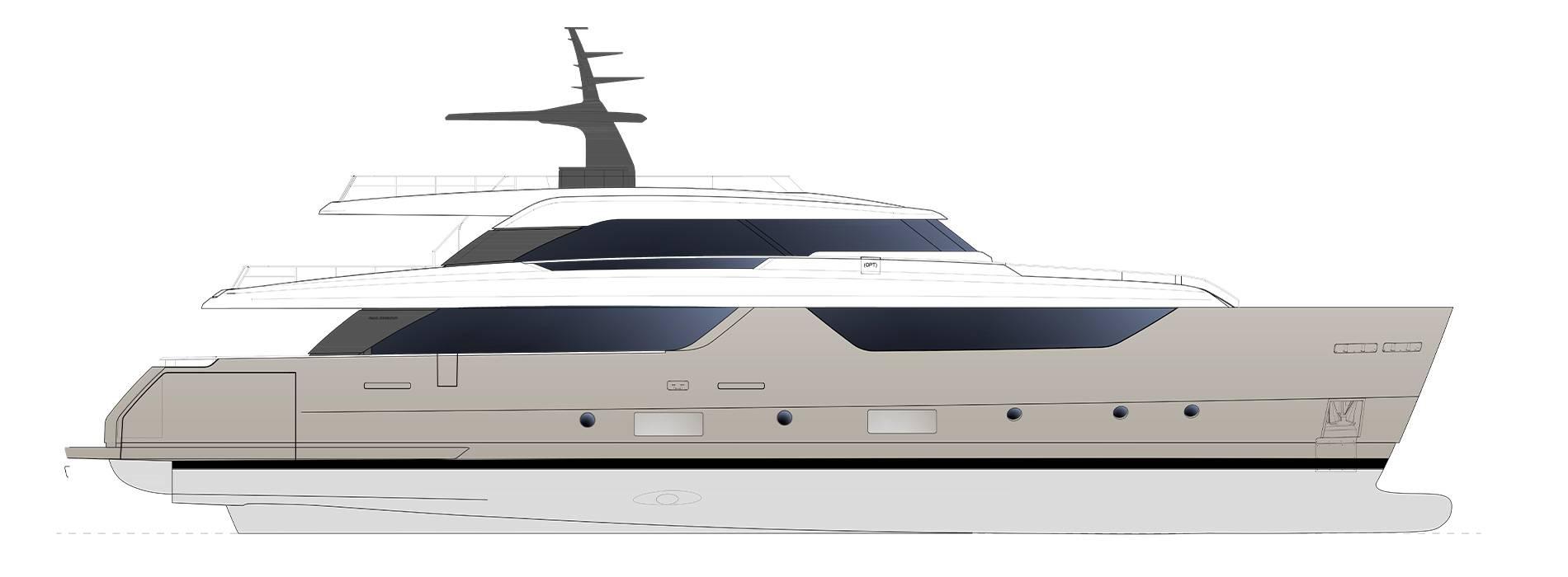 Sanlorenzo Yachts SD118 Профиль