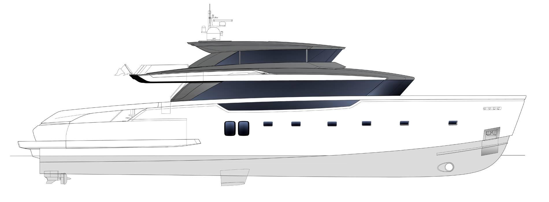 Sanlorenzo Yachts SX112 Профиль