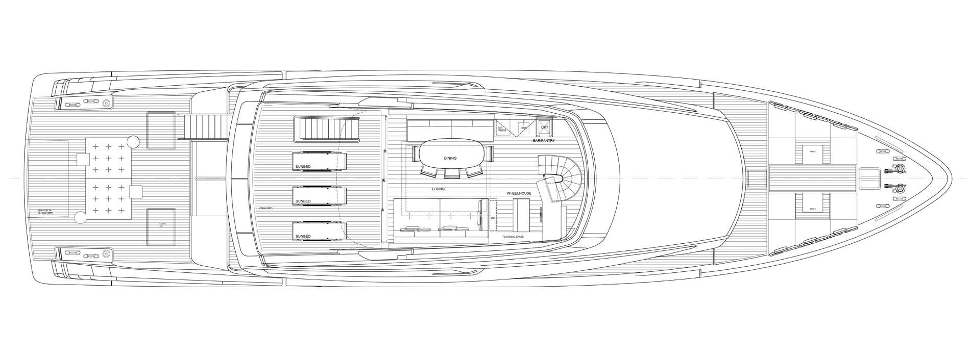 Sanlorenzo Yachts SX112 Флайбридж