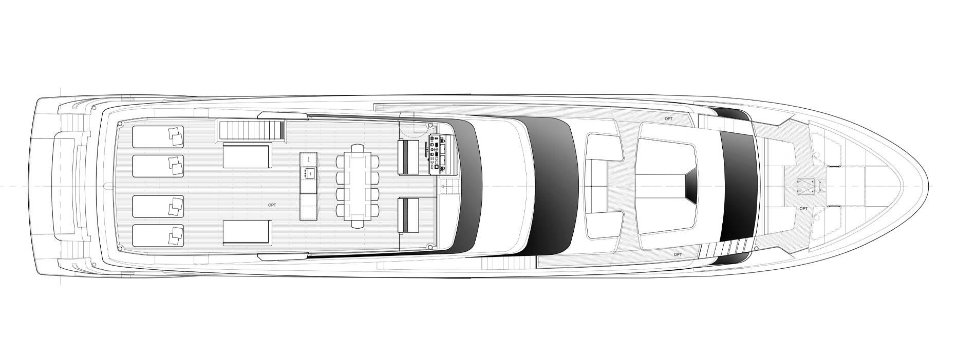 Sanlorenzo Yachts SL120 Asymmetric Флайбридж