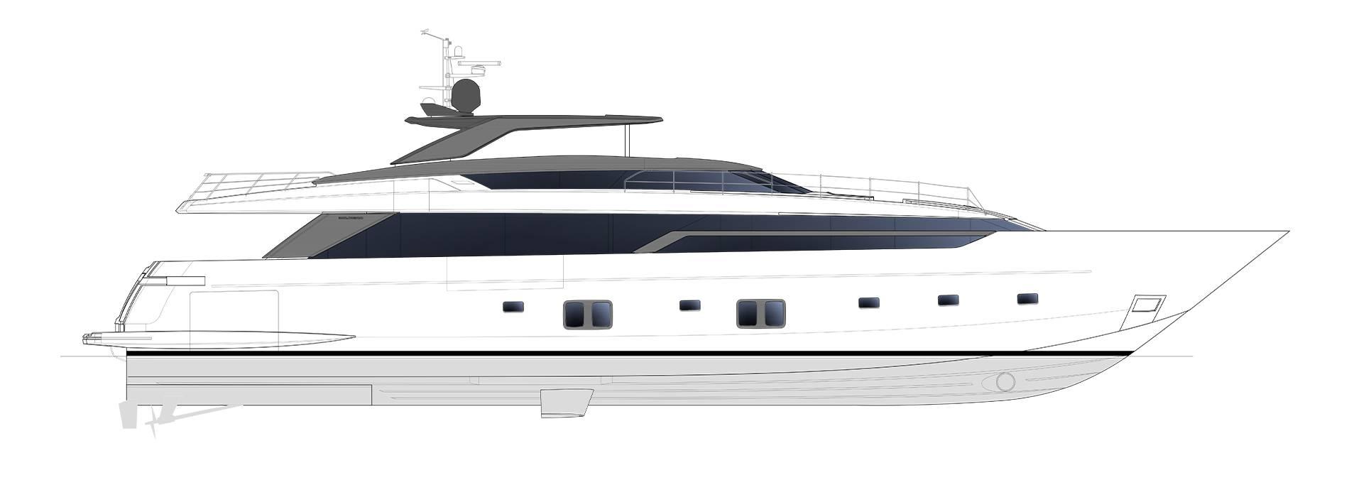 Sanlorenzo Yachts SL120 Asymmetric Профиль