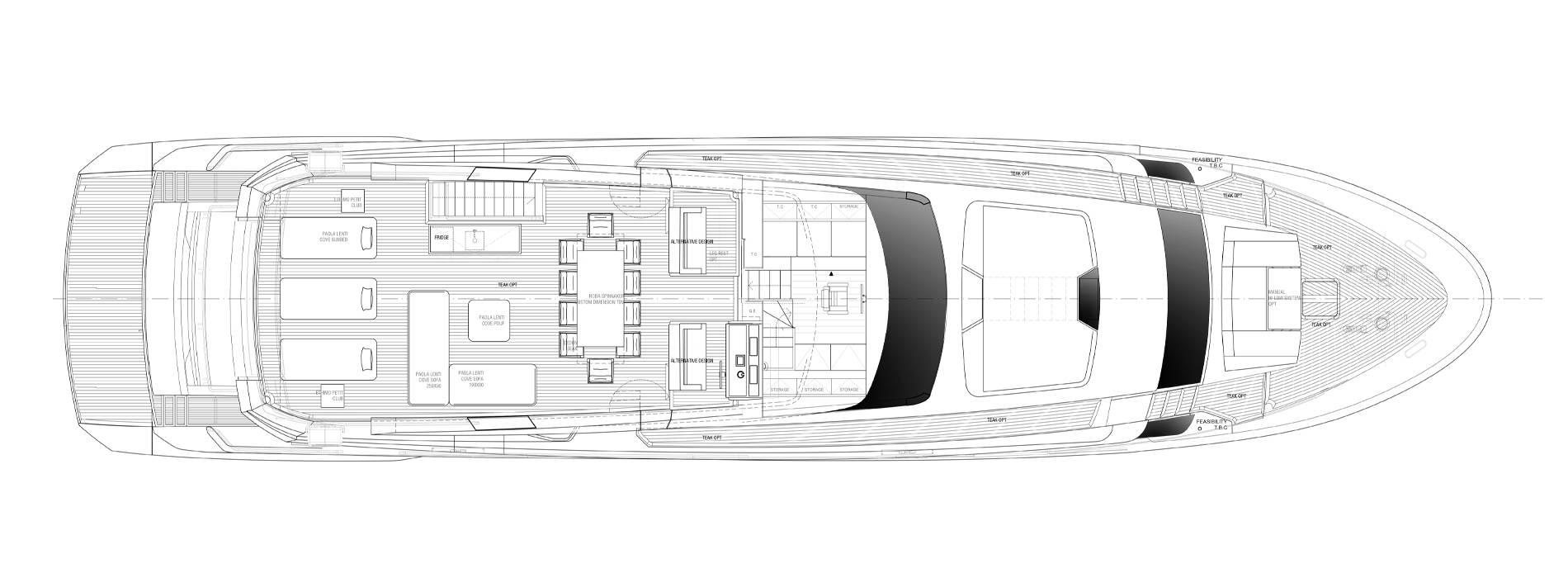 Sanlorenzo Yachts SL102A-746 Флайбридж