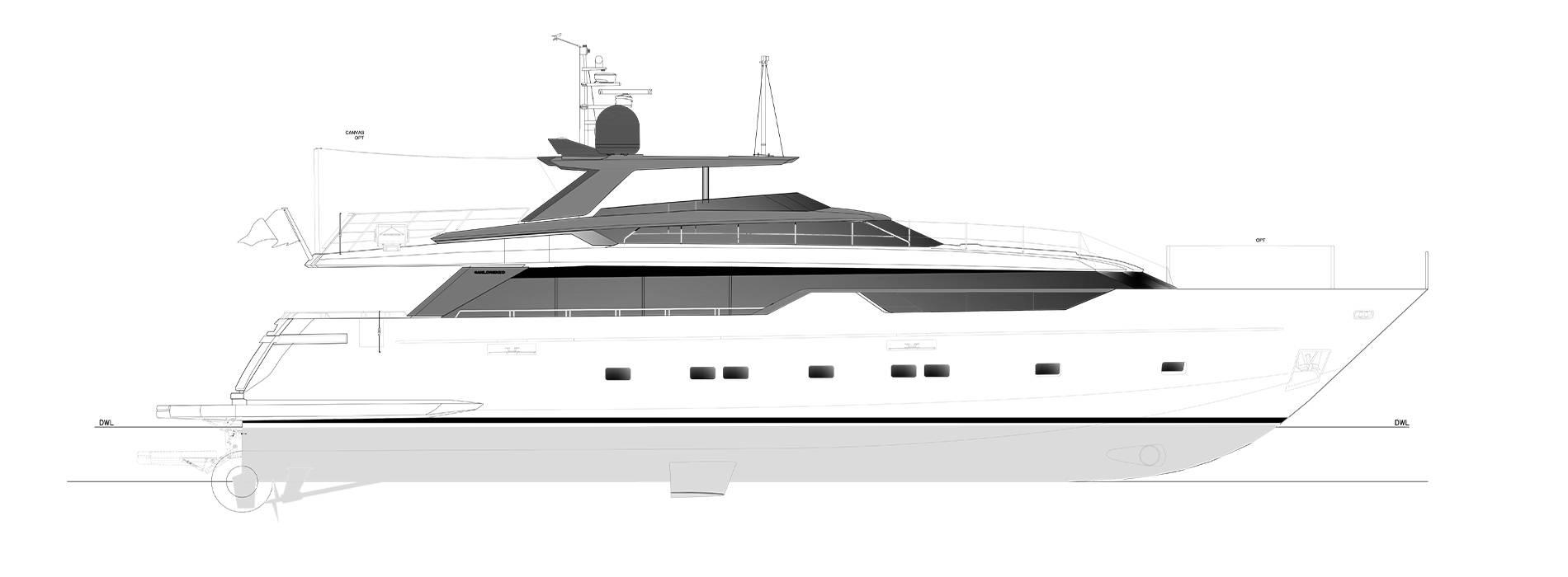 Sanlorenzo Yachts SL102A-746 Профиль