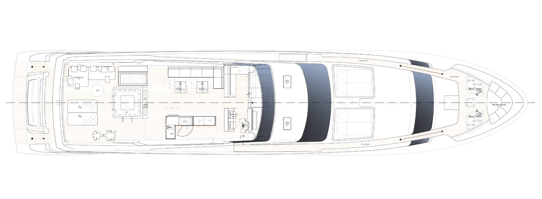 Sanlorenzo Yachts SL118-628 Флайбридж