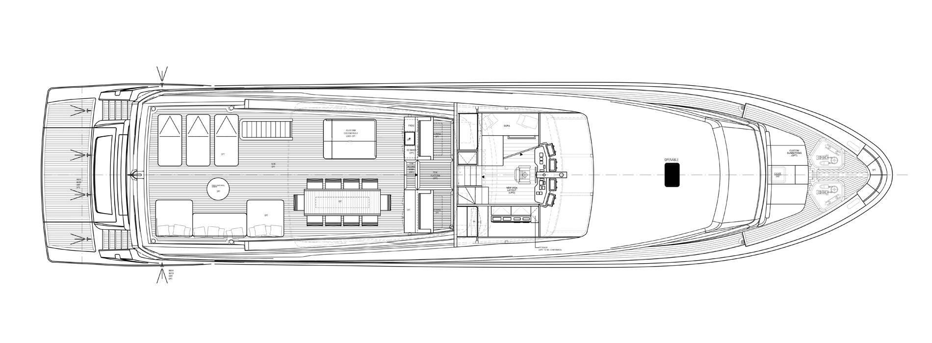 Sanlorenzo Yachts SL106-725 Флайбридж