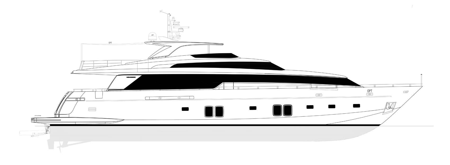 Sanlorenzo Yachts SL106-725 Профиль
