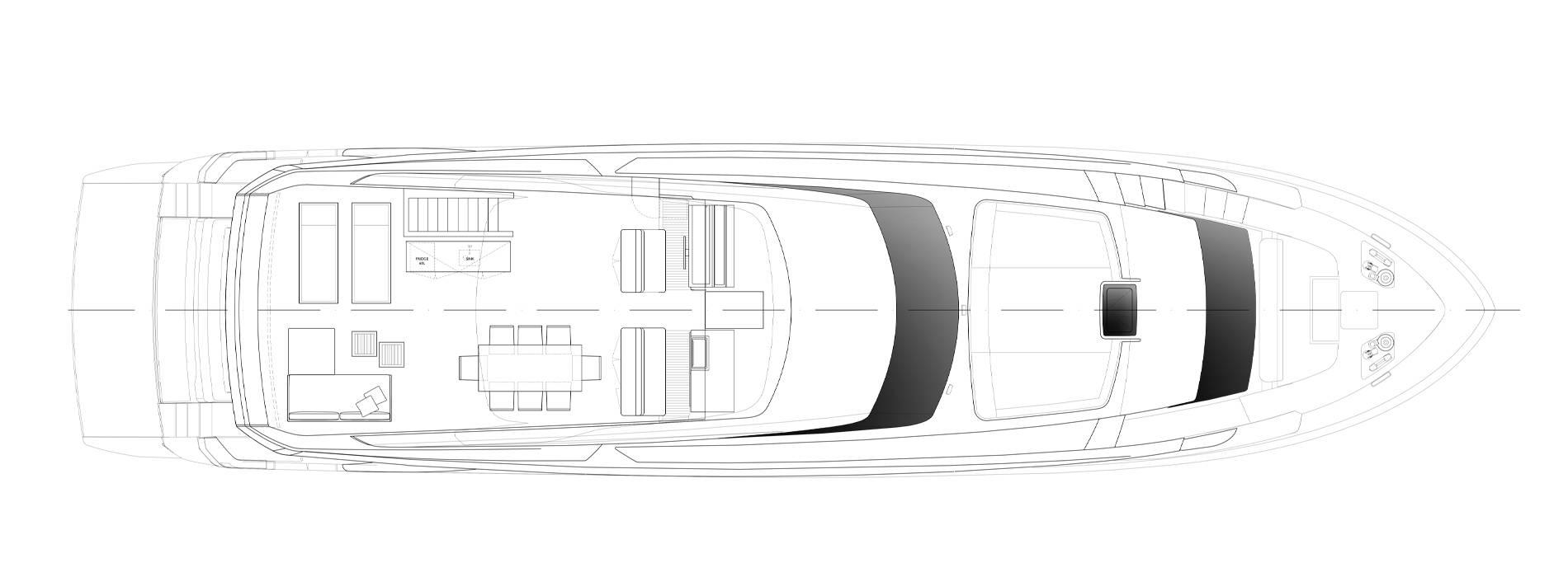 Sanlorenzo Yachts SL90 Asymmetric Флайбридж