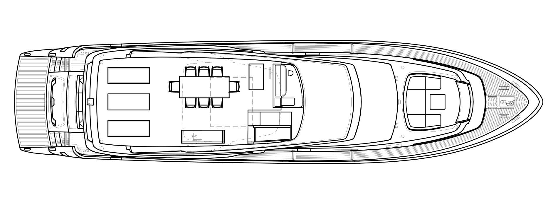 Sanlorenzo Yachts SL78 Флайбридж