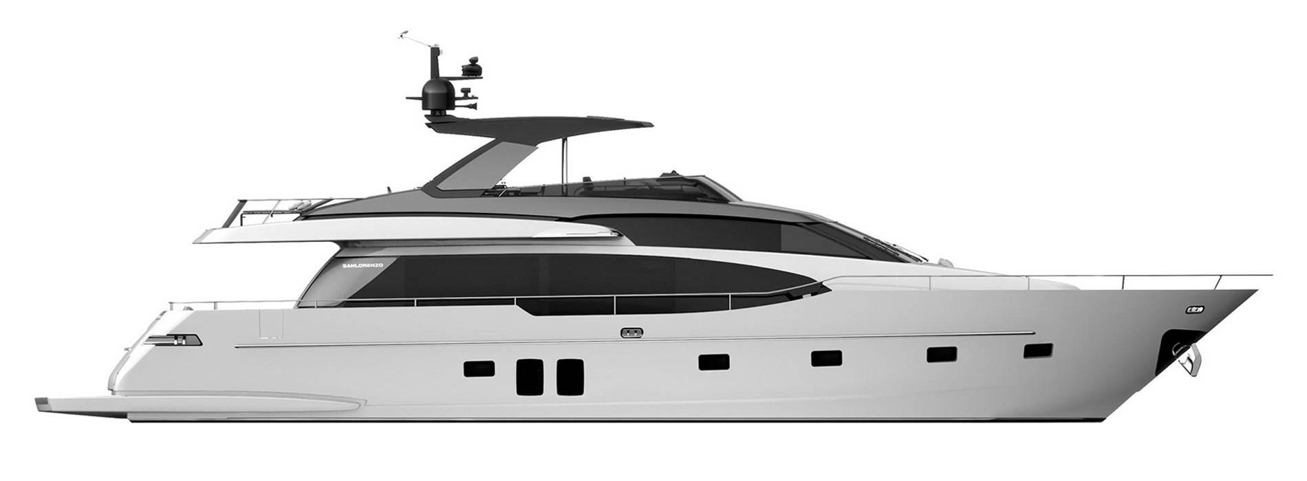 Sanlorenzo Yachts SL78 Профиль