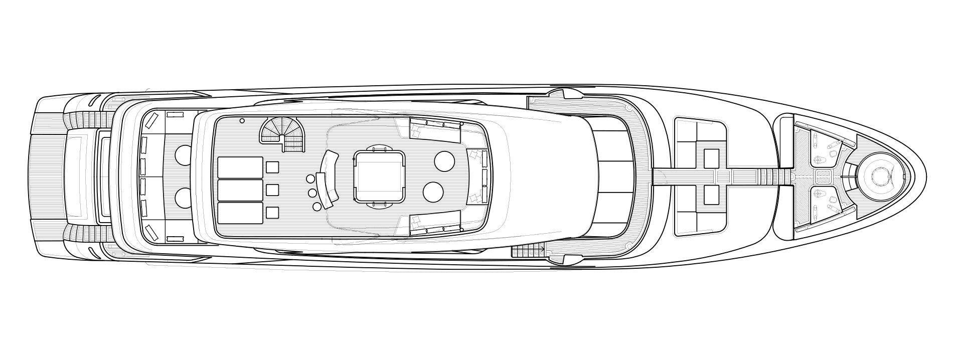 Sanlorenzo Yachts SD126 Флайбридж версия B