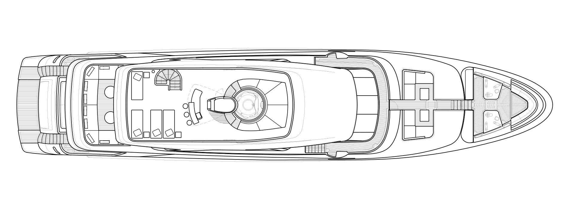 Sanlorenzo Yachts SD126 Флайбридж версия A