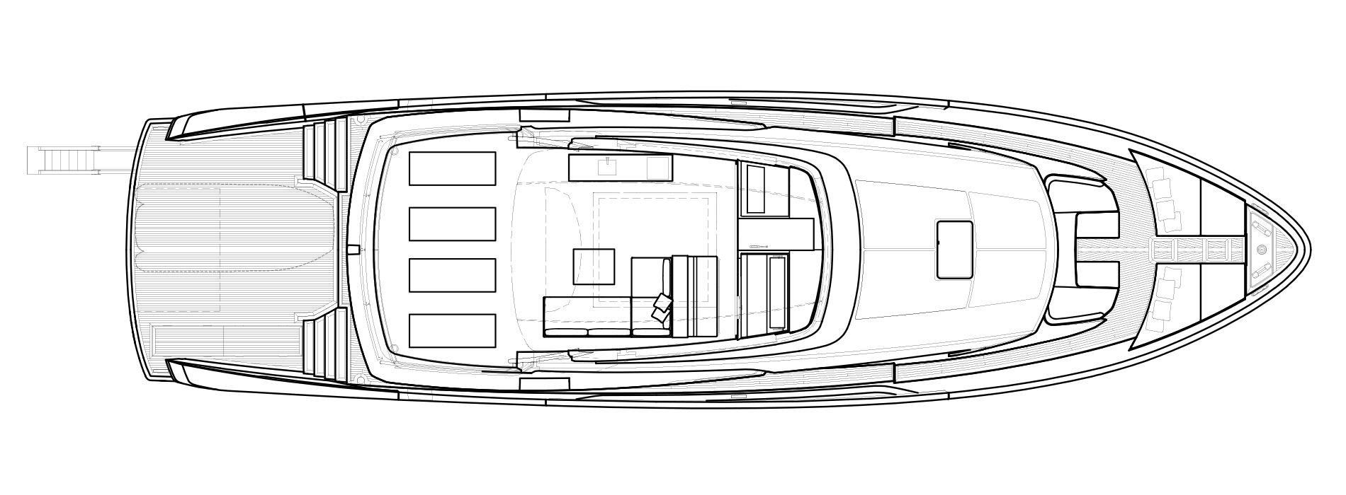 Sanlorenzo Yachts SX88 Флайбридж версия USA