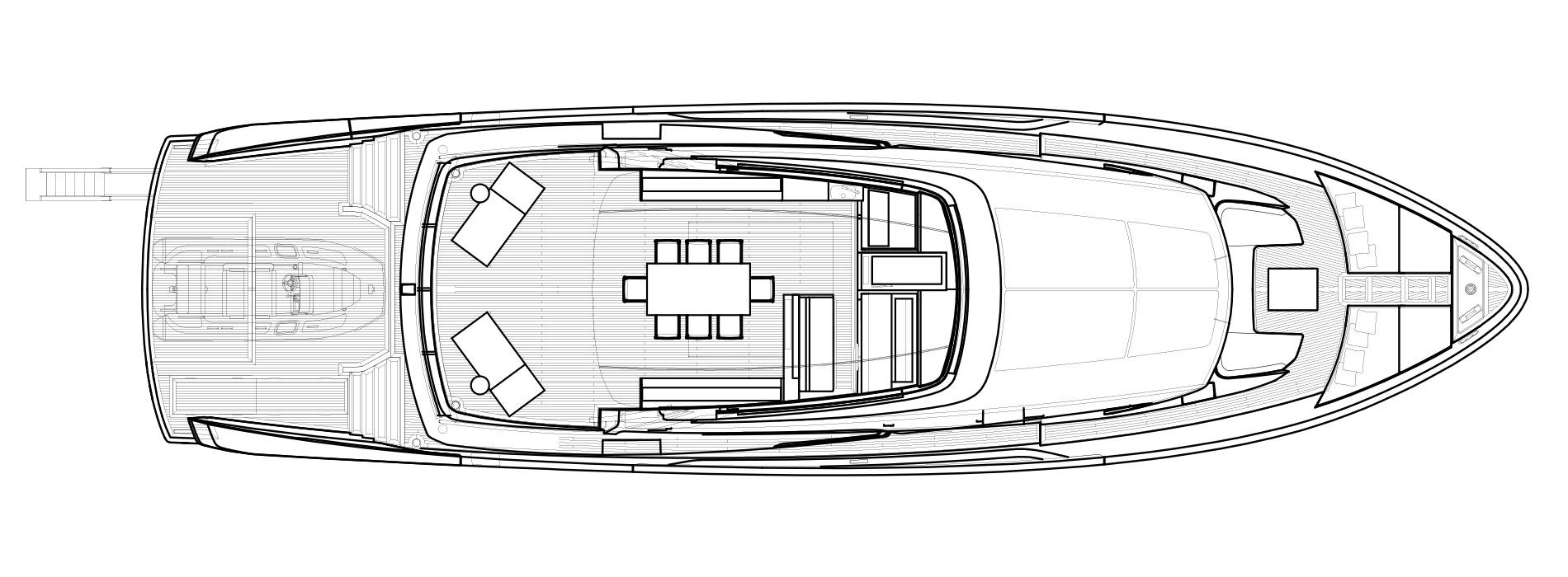 Sanlorenzo Yachts SX88 Флайбридж версия Lissoni