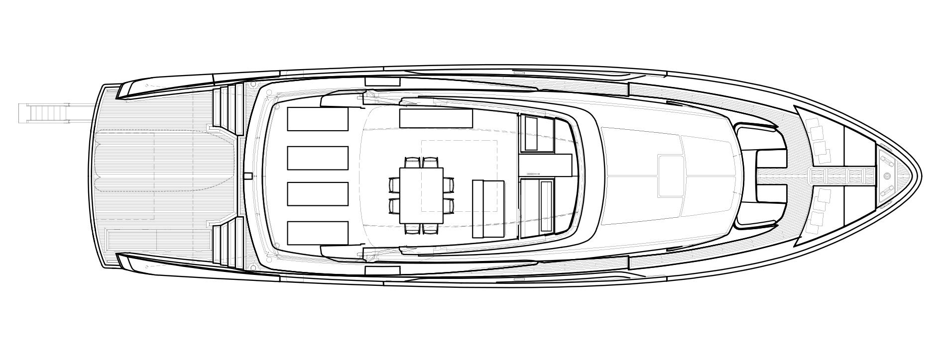 Sanlorenzo Yachts SX88 Флайбридж версия C