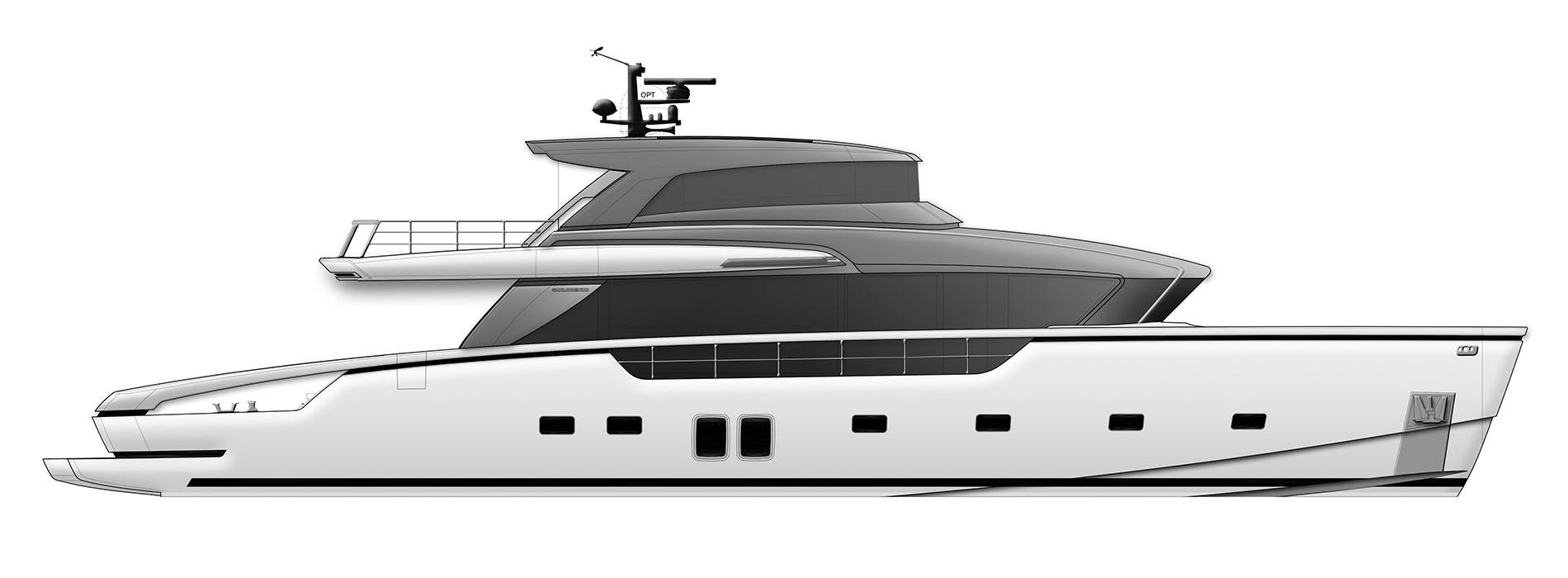 Sanlorenzo Yachts SX88 Профиль