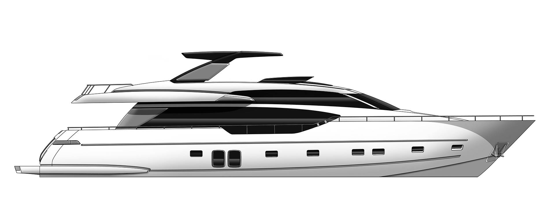 Sanlorenzo Yachts SL86/698 Профиль