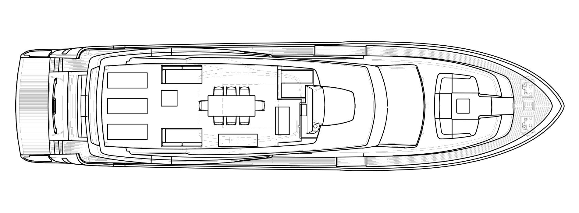 Sanlorenzo Yachts SL86/698 Флайбридж версия A