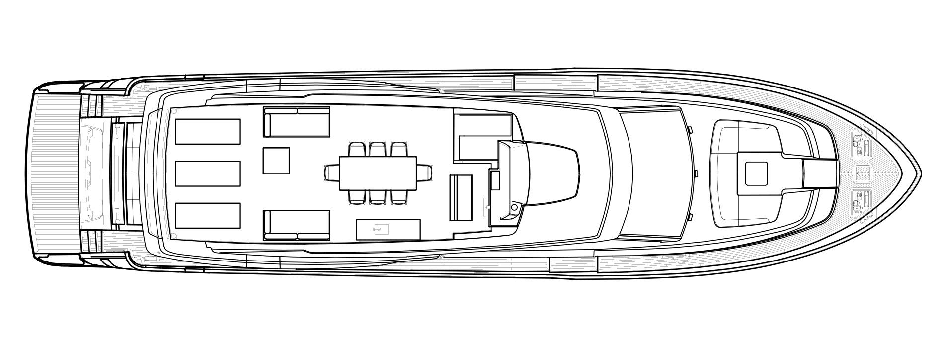 Sanlorenzo Yachts SL86/698 Флайбридж версия USA