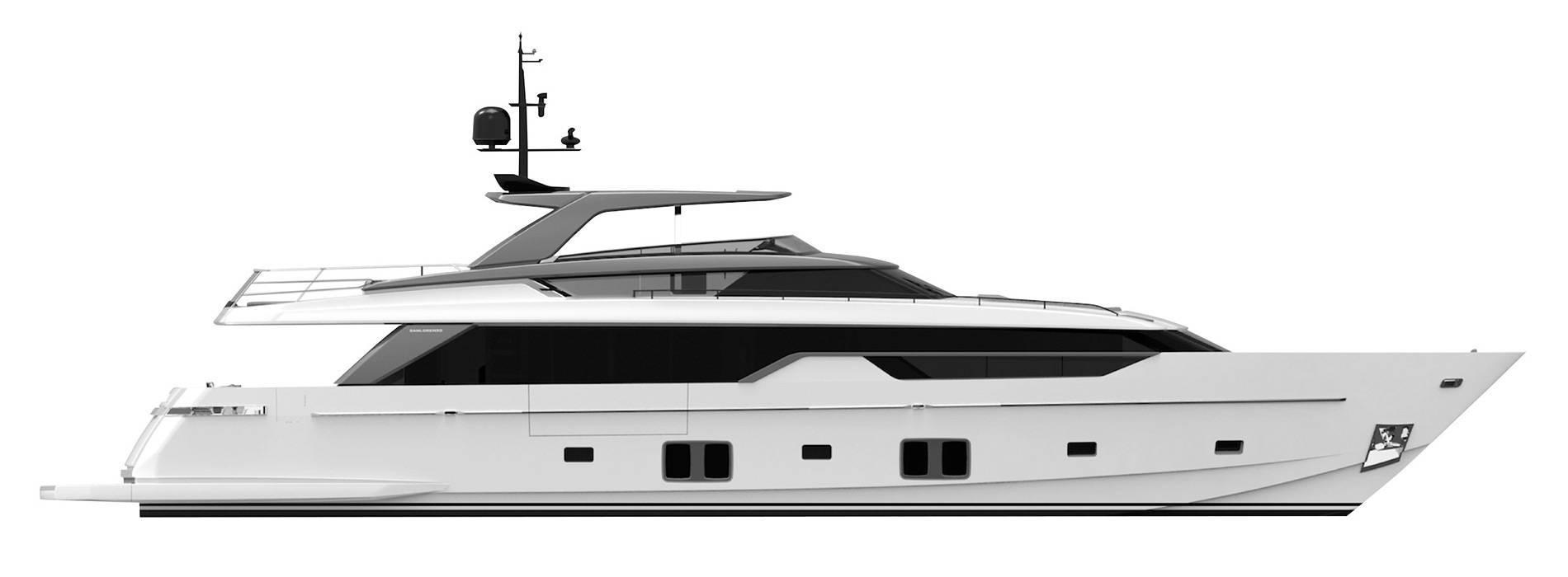 Sanlorenzo Yachts SL102 Профиль
