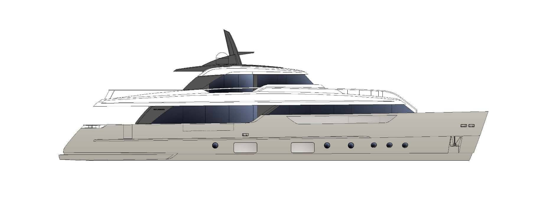 Sanlorenzo Yachts SD96 Профиль
