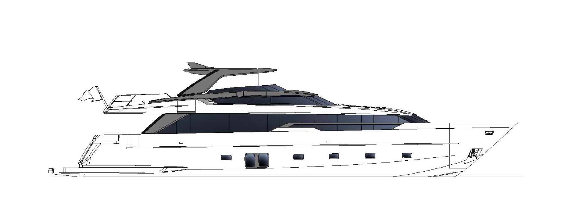 Sanlorenzo Yachts SL96 Asymmetric Профиль